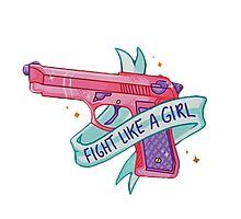 FIGHT LIKE A GIRL VOL. 1  Photographic Print