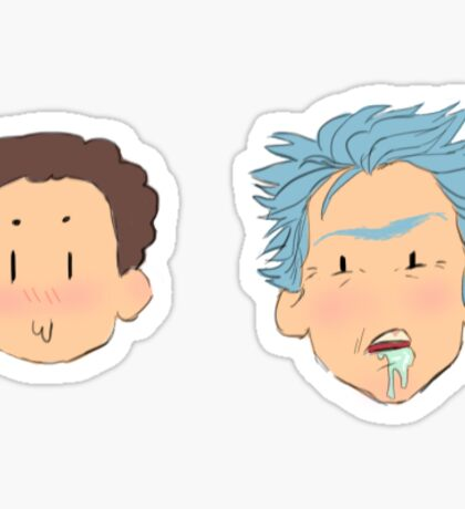 Not-so Dynamic Duo Sticker