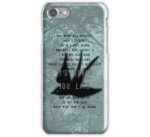 Never Too Late iPhone Case/Skin