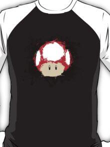 Abstract Super Mario Mushroom T-Shirt