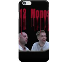 12 Monos (Twelve Monkeys) Soy mentalmente divergente  iPhone Case/Skin