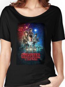 stranger things Women's Relaxed Fit T-Shirt