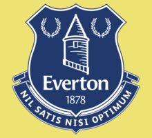 Everton FC Badge One Piece - Short Sleeve