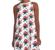 gloom - pokemon A-Line Dress