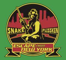Snake Plissken (Escape from New York) Badge Colour Kids Tee