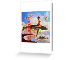 Fly in Fog Greeting Card
