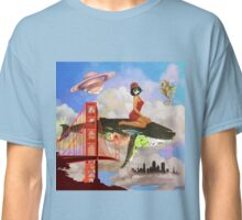 Fly in Fog Classic T-Shirt