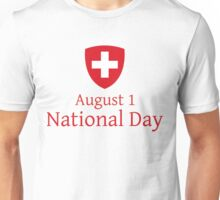 Swiss  Unisex T-Shirt