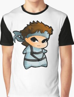Solid Snake Graphic T-Shirt