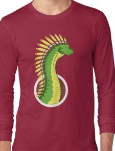 Mohawksaurus Long Sleeve T-Shirt