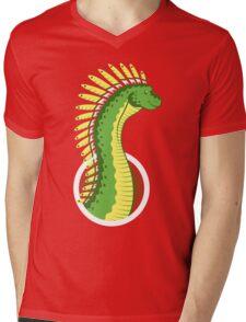 Mohawksaurus Mens V-Neck T-Shirt