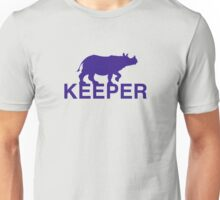 Greater One-horned Rhino Keeper Unisex T-Shirt