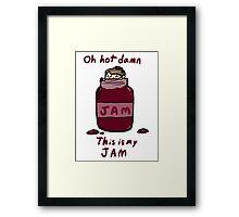 John's Jam Framed Print