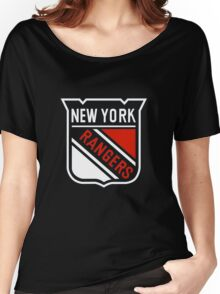 The New York Rangers Women's Relaxed Fit T-Shirt