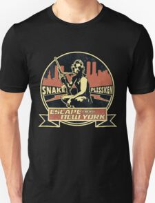 Snake Plissken (Escape from New York) Badge Vintage Unisex T-Shirt
