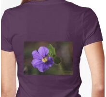 Scaevola calliptera #3 Womens Fitted T-Shirt