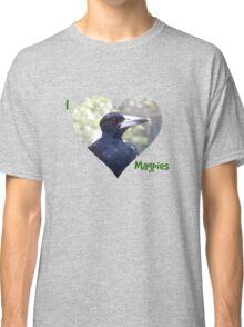 I HEART Magpies! Classic T-Shirt