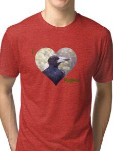 I HEART Magpies! Tri-blend T-Shirt