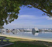 Nelson Bay Marina by Steve Randall