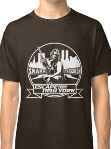 Snake Plissken (Escape from New York) Badge Transparent Classic T-Shirt