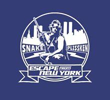 Snake Plissken (Escape from New York) Badge Transparent Unisex T-Shirt