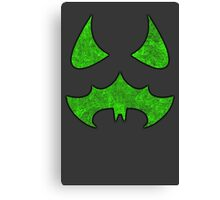 Scarecrow Logo (Metal) Canvas Print
