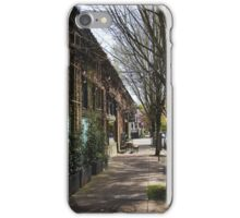 Portland Street Scene 2 iPhone Case/Skin