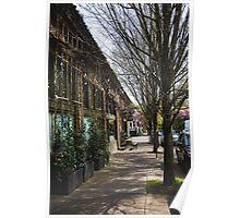 Portland Street Scene 2 Poster