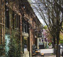 Portland Street Scene 2 Sticker