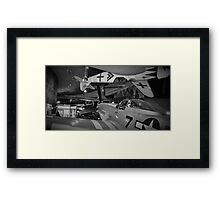 The Mustang and the Ace Framed Print
