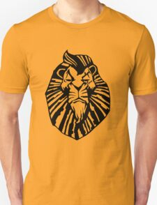 Broadway Poster Style Lion Scar - The Wannabe Lion King T-Shirt