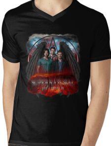 Supernatural Gods Among Us 5 Mens V-Neck T-Shirt