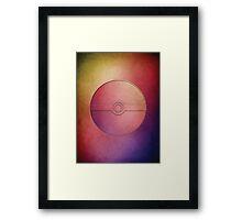Pokeball | Pokemon Go Framed Print