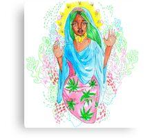 Virgin Nicki Canvas Print
