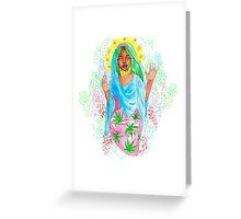 Virgin Nicki Greeting Card