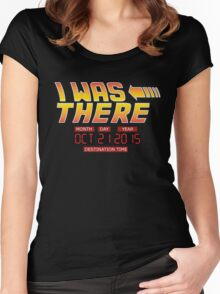Back to the Future Day - I Was there Women's Fitted Scoop T-Shirt
