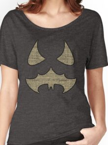 Scarecrow Logo (Burlap) Women's Relaxed Fit T-Shirt