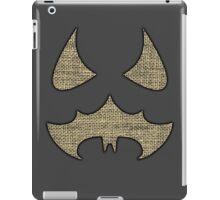 Scarecrow Logo (Burlap) iPad Case/Skin
