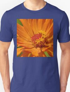 Orange Zinnia Unisex T-Shirt
