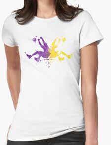 Lakers Rorshaq Womens Fitted T-Shirt