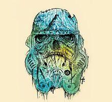 Zombie Trooper by albertmontoya