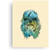 Zombie Trooper Canvas Print