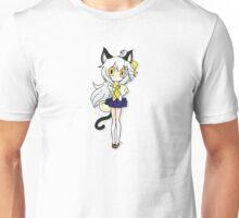 Chibi Neko At School Unisex T-Shirt