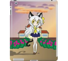 Chibi Neko At School iPad Case/Skin