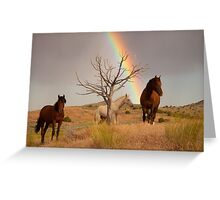Rainbow's End Greeting Card