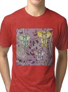 Elephant Garden Tri-blend T-Shirt