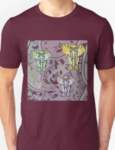 Elephant Garden Unisex T-Shirt