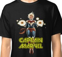 CAPTAIN MARVEL THE WOMAN SUPERHERO Classic T-Shirt