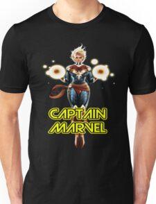 CAPTAIN MARVEL THE WOMAN SUPERHERO... Unisex T-Shirt