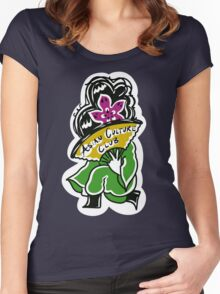 Asian Culture Club Shirt Women's Fitted Scoop T-Shirt